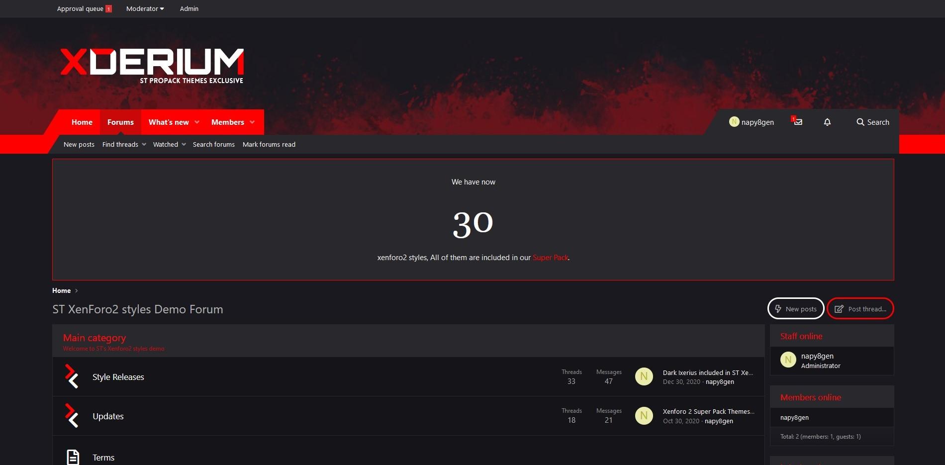 SharedScreenshot2 9 - Dark Ixerius and Dark Xderium released!