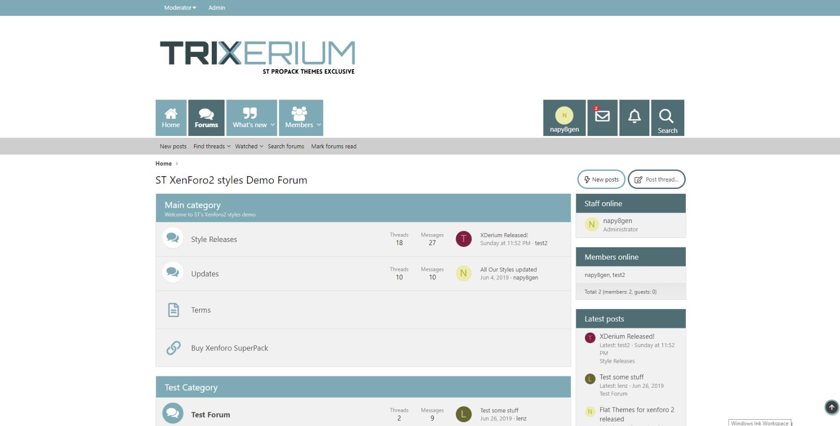 Trixerium Glacier - Trixerium xf2