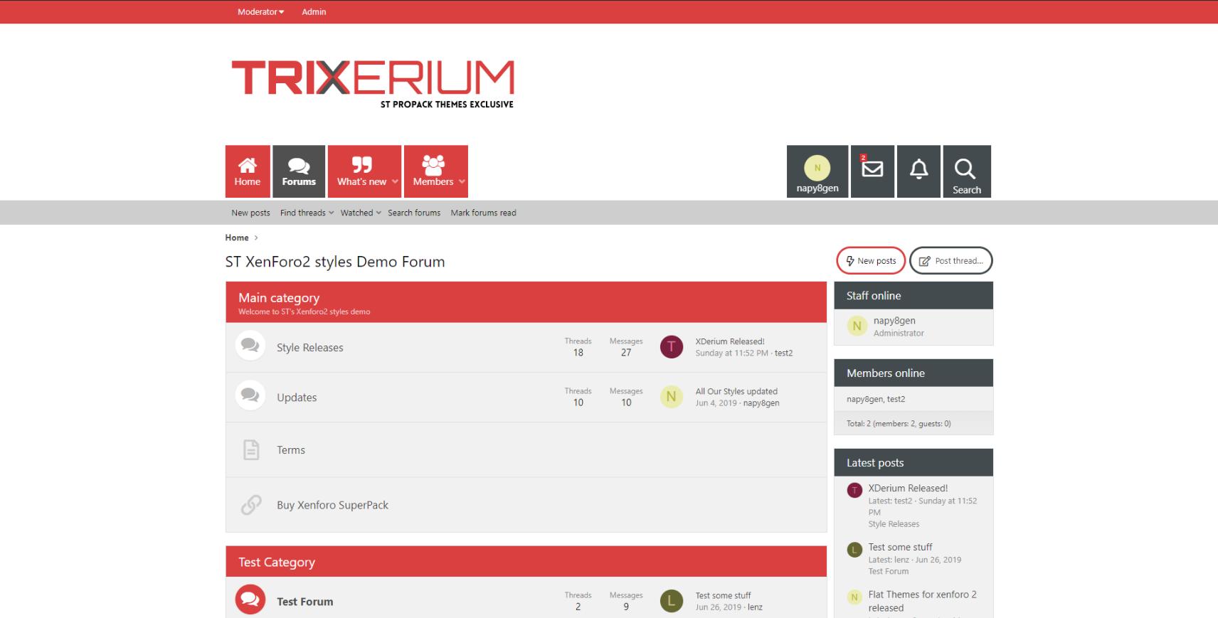 Trixerium cinnabar - Trixerium XF2 Released!