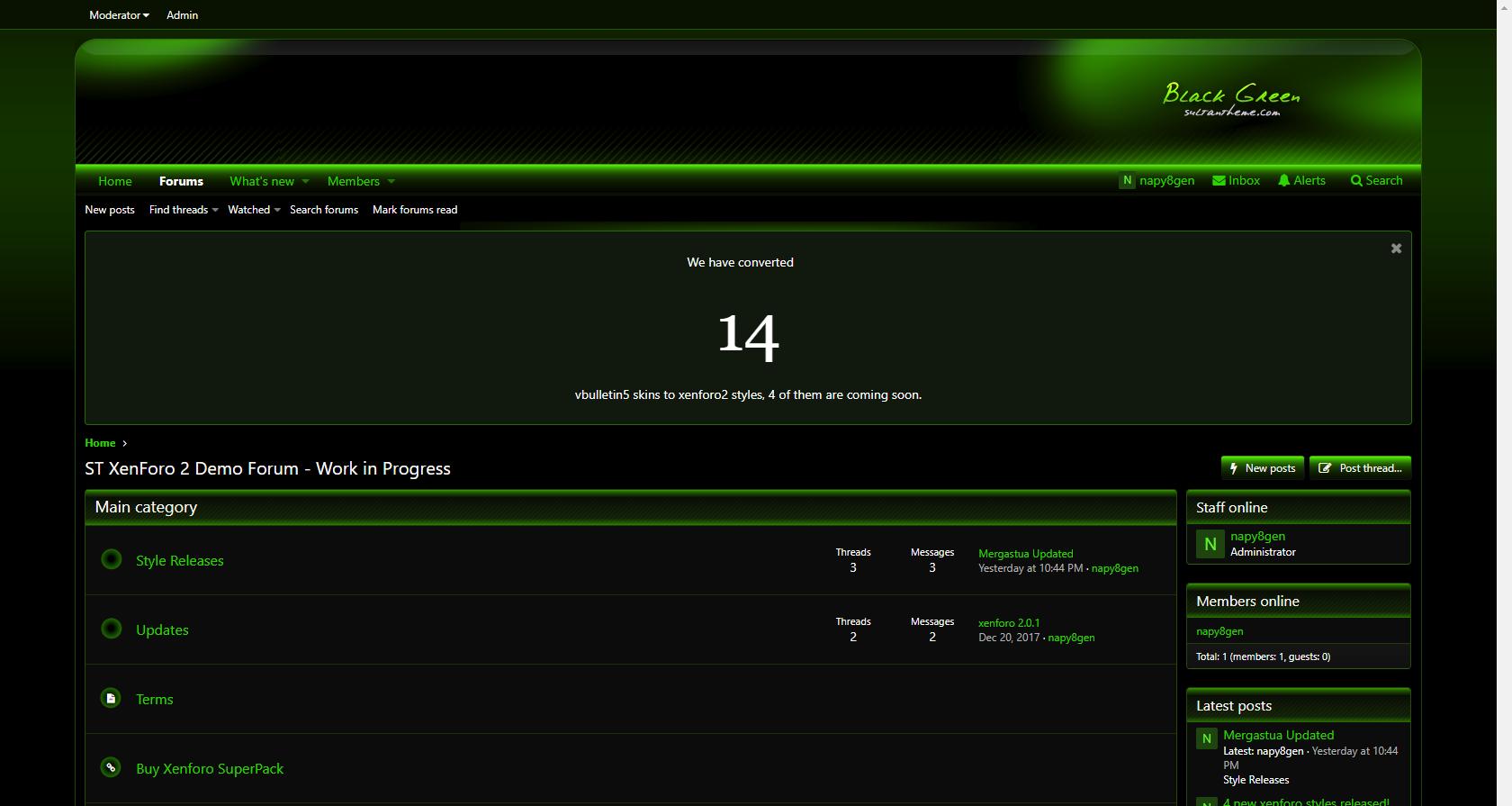 blackgreen 3 - BlackGreen xf2