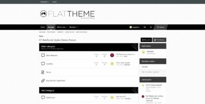 ft blacknwhite 1 416x211 - Flat Themes xf2