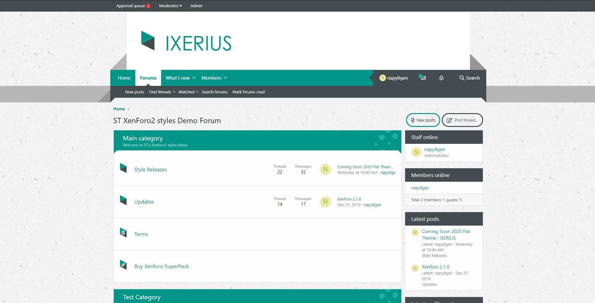 ixerius ori - Ixerius for xenforo 2 released!