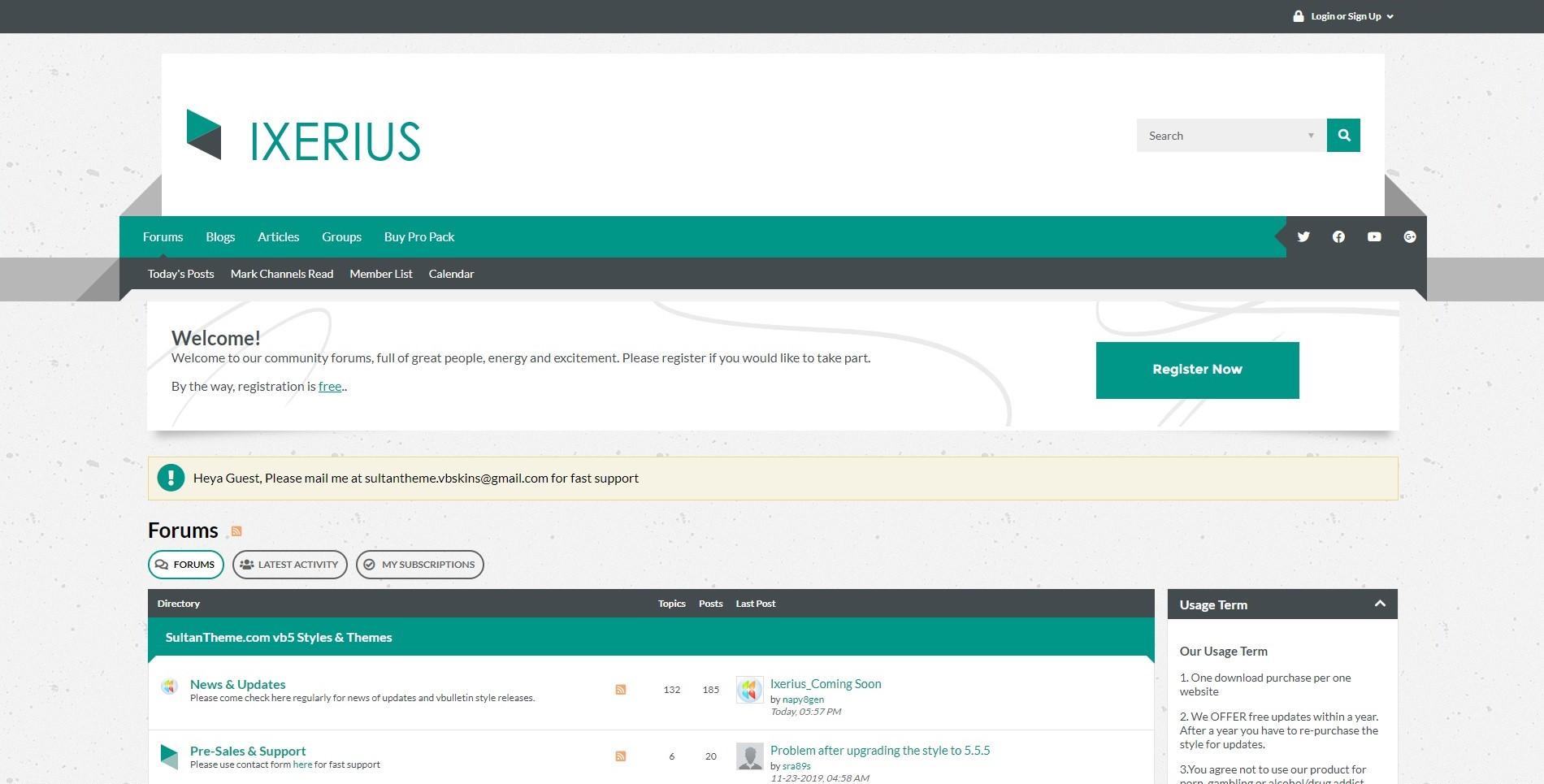 ixerius1 - Ixerius Released
