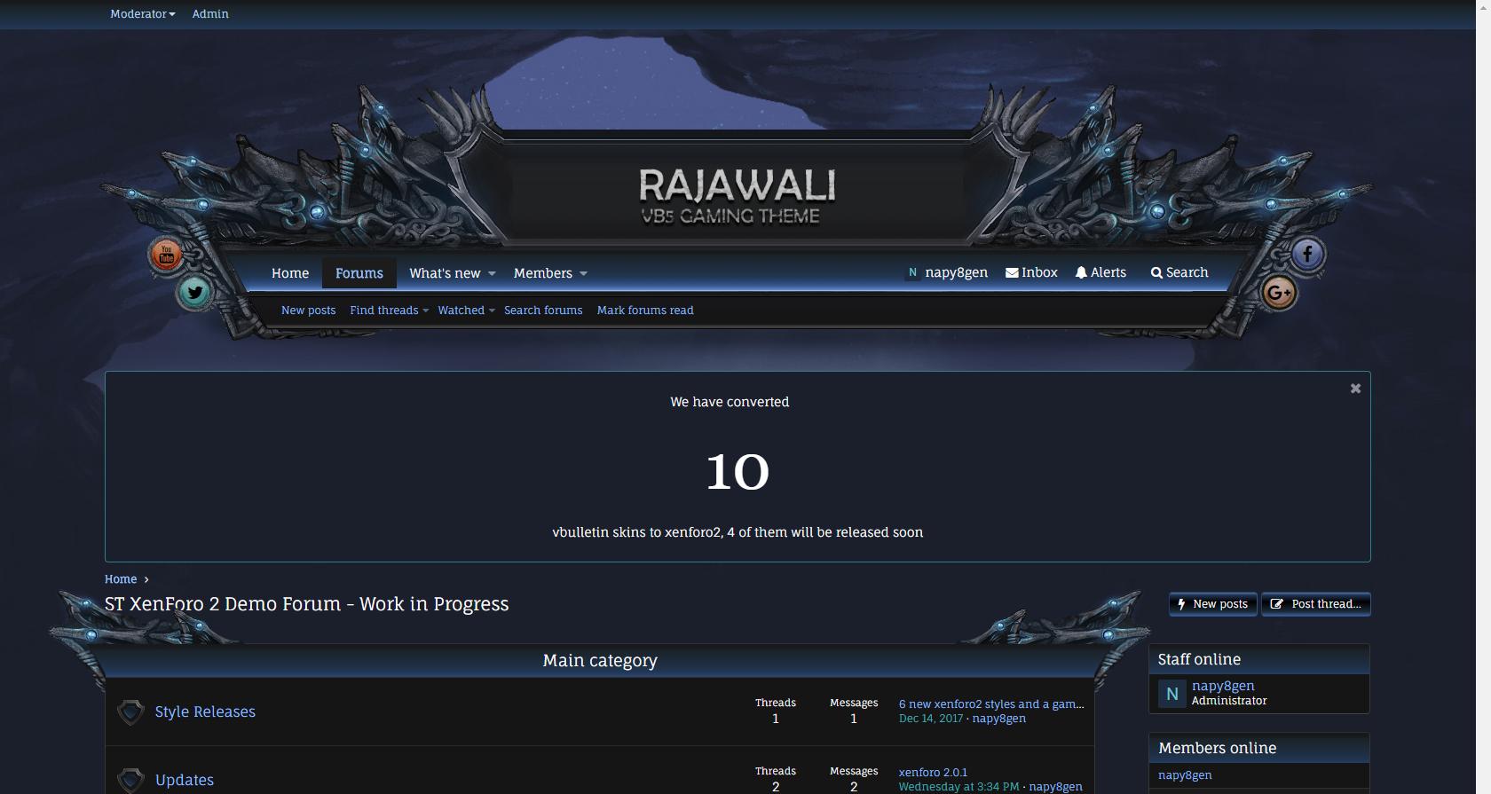 rajawali - Rajawali xf2