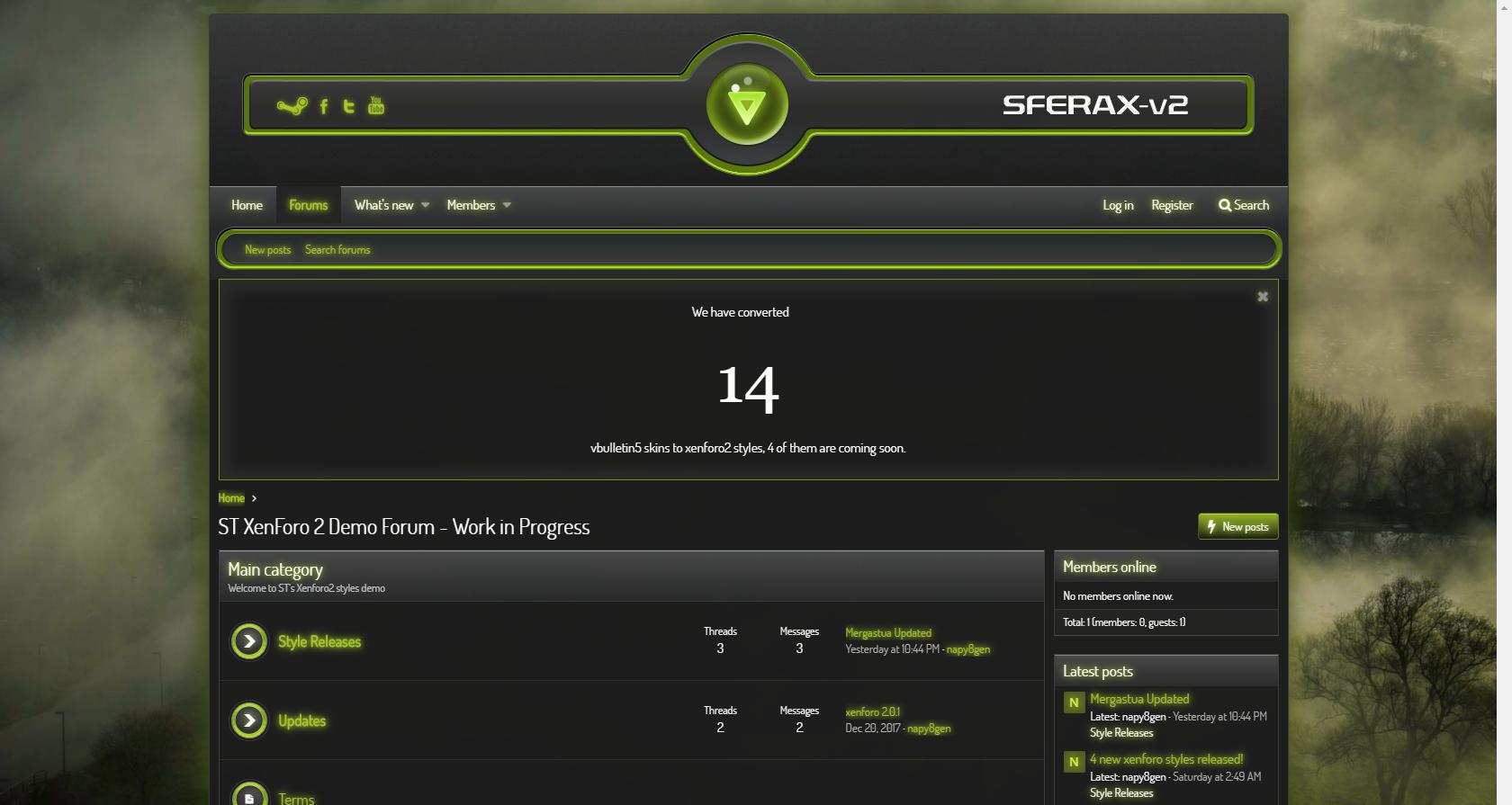 sferaxv2g - Sferax v2 Green xf2