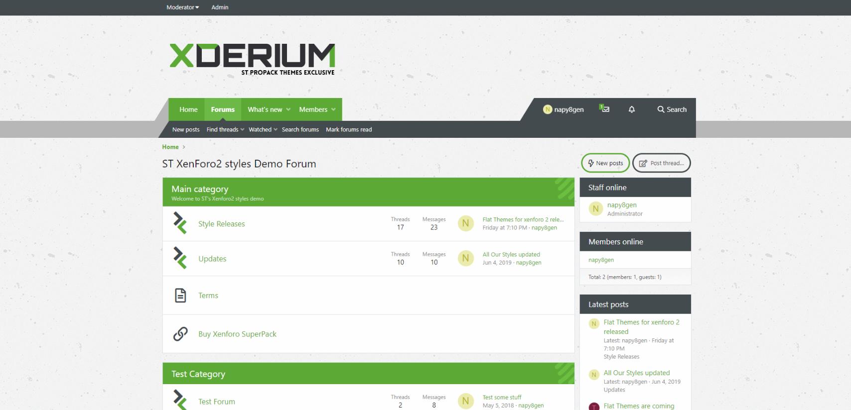 xderium apple - XDerium for xenforo2 released
